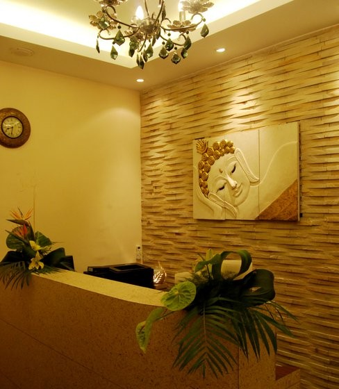 RECEPTION, Top 100 Body Massage Centres in Kolkata