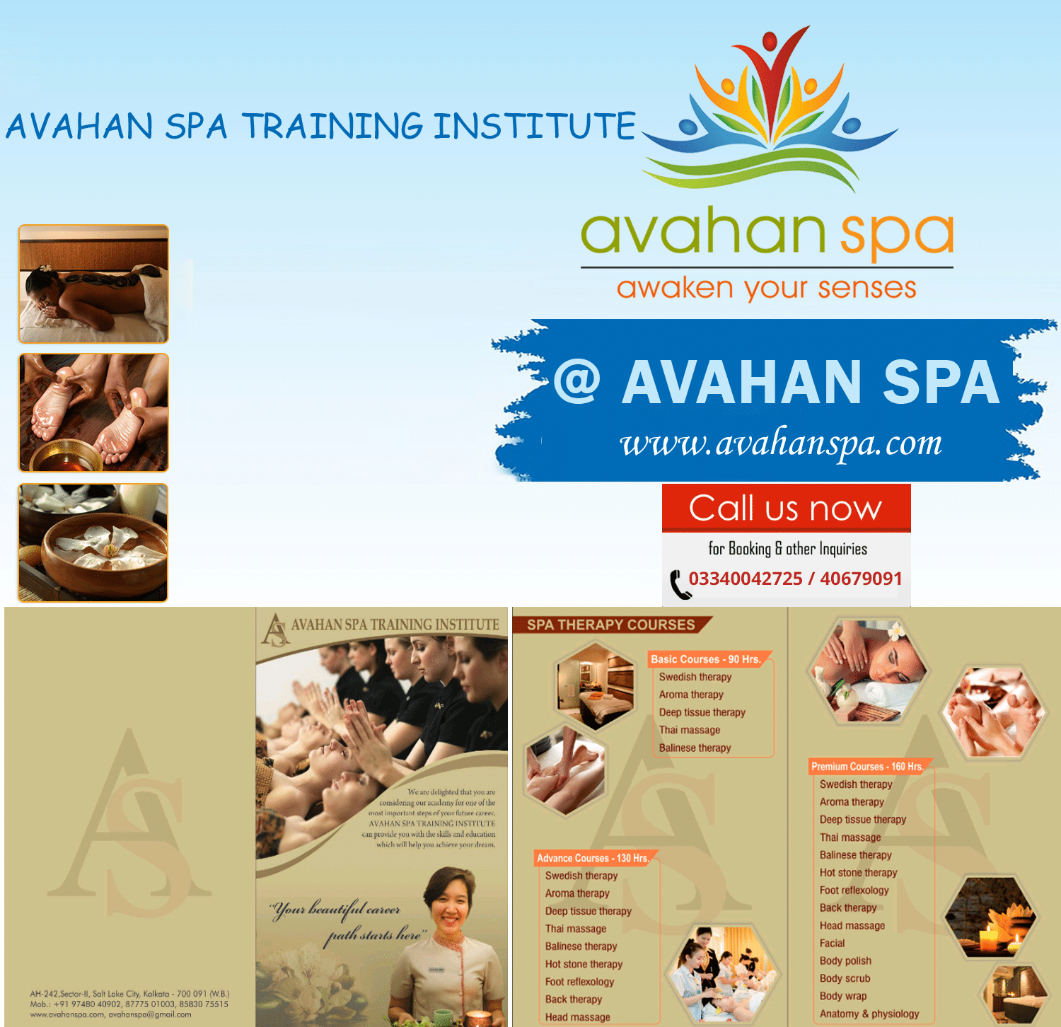 AVAHAN SPA TRAINING INSTITUTE
